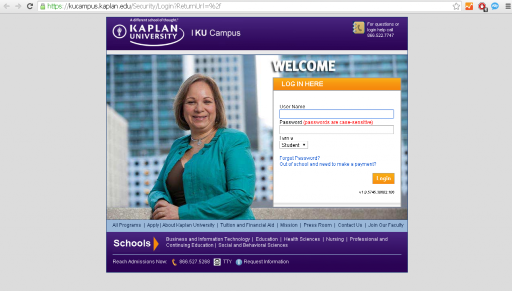 Kaplan University Login Guide For Leaning Portal Today S Assistant