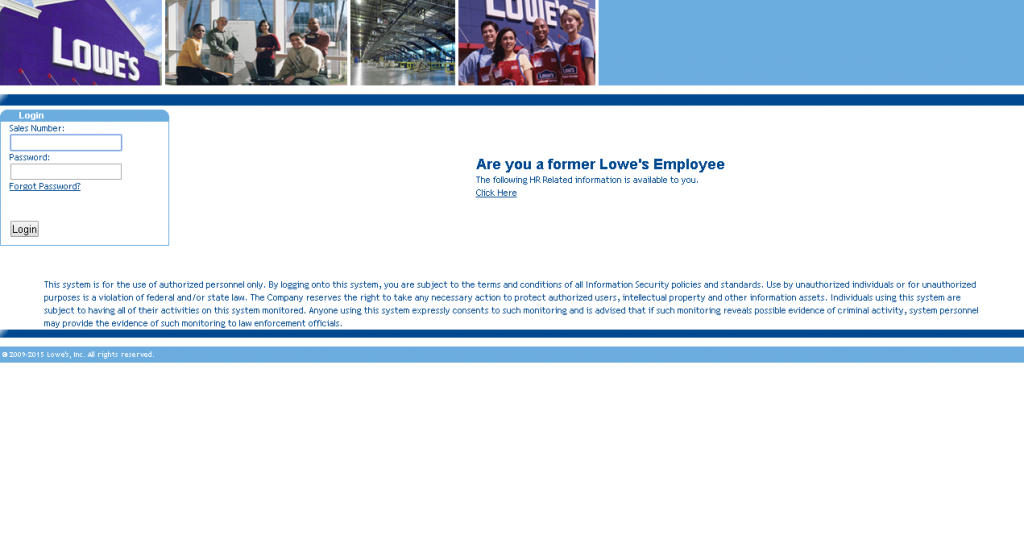 Lowes Employee Login Guide Today S Assistant