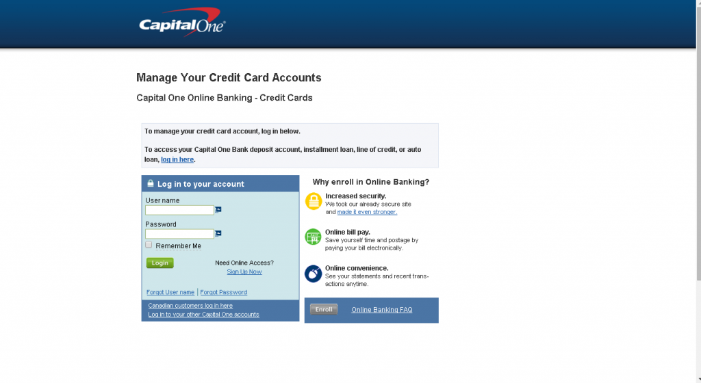 How to set up a capital one credit card pin