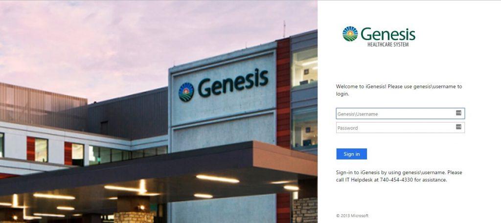 genesis healthcare employee login igenesis