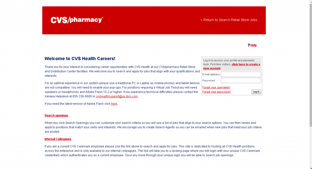 cvs employee login guide