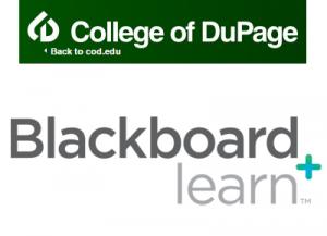 College of DuPage on Blackboard learn
