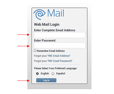 tampabay roadrunner webmail login page screenshot
