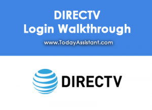 DIRECTV Login Walkthrough