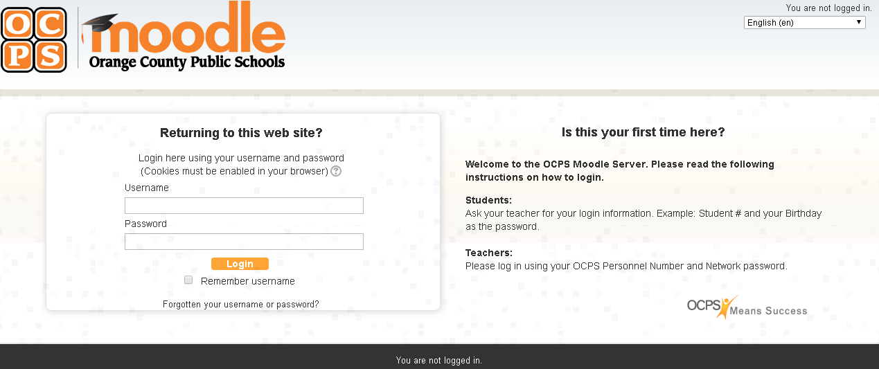 Moodle OCPS Login Guide | Today's Assistant