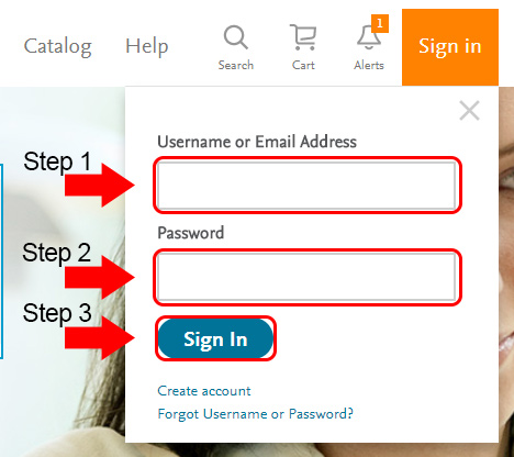evolve elsevier account login