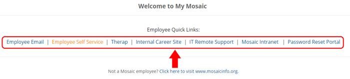 mosaic info website