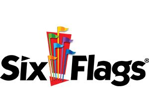 logo of six flags