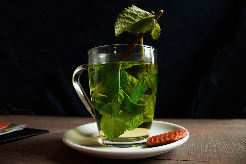 Green tea for getting rid of pimple